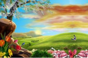 spring-trees-nature-beautiful